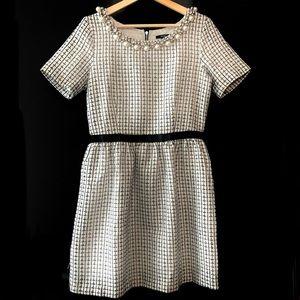 🌿2/40$ Jacob Tweed Dress with Embellished Collar